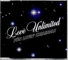 FUN LOVIN' CRIMINALS - LOVE UNLIMITED - CD SINGLE