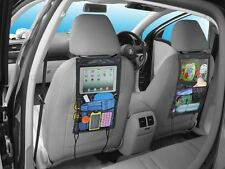 Back Seat Car Organizer with Tablet holder Travel iPad Galaxy Storage Bag