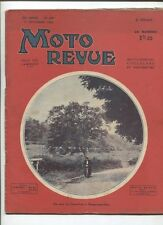 Moto Revue N°510  ;  17  décembre   1932 : le métier de coureur motocycliste