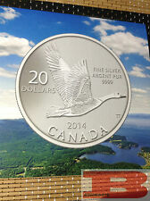 2014 Canada $20 for $20 Canada Goose - #11 in the series.