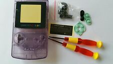 BE-HOUSING GAMEBOY COLOR CLEAR PURPLE NEW