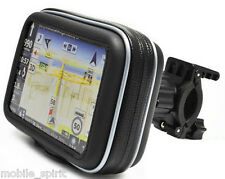 "Waterproof Bike Bicycle Zipper Bag Case +Holder For 4.3"" Tom Tom Garmin NUVI GPS"
