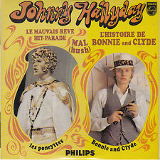 CD CARTONNE CARDSLEEVE JOHNNY HALLYDAY 4t BONNIE AND CLYDE NEUF SCELLE N° 4444