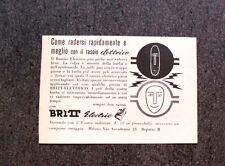 L791- Advertising Pubblicità - 1957 - HAND CREAM , MISS CORALL
