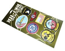 AIR FORCE CLOTH PATCHES Top Gun sew on US pilot badges full jacket range Topgun