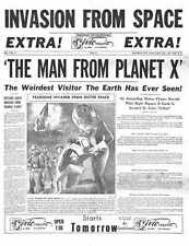 Man From Planet X Poster 05 A2 Box Canvas Print