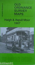 Old Ordnance Survey Map Haigh & Aspull Moor Lancashire 1907 Sheet 86.13 New