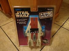 1997 TIGER ELECTRONICS--STAR WARS--A WING CALCULATOR (NEW)