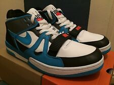 Nike Air Alpha Force 2 White/Blue Reef/Black Sz 13 NEW DEADSTOCK Barkley