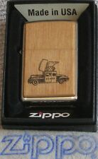 ZIPPO  ROSEART Lighter  1947  CAR  Chestnut  Forest  Treasure  MIB