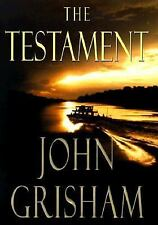 JOHN GRISHAM THE TESTAMENT FIRST EDITION hard cover w/dust jacket