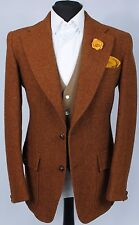 Harris Tweed Blazer Jacket Dunn & Co Country Shooting 42R SUPERB GARMENT 183