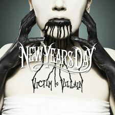 Victim To Villain - New Years Day (2013, CD NIEUW)
