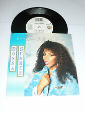 """DONNA SUMMER - Love's About To Change My Heart - Rare UK 2-track 7"""" Vinyl Single"""