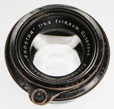 Ernemann Ernotar 16.5cm f4.5 Barrel Lens   #107246