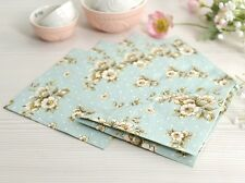 Pack of 25 KATIE ALICE Cottage Flower PAPER NAPKINS Shabby Chic Vintage Style