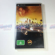 Need For Speed: Undercover (Near MINT Disc!) Sony PSP PAL Racing (Complete VGC)