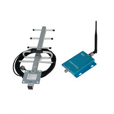 850MHz Mobile 3G Signal Extender GSM Repeater Amplifier + Yagi For Home & Office
