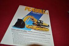 Komatsu PC400LC Hydraulic Excavator Front Shovel Dealer's Brochure DCPA4 ver2