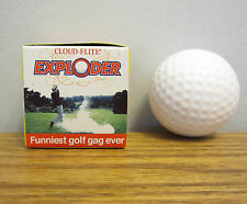 1 EXPLODING GOLF BALL EXPLODES IN A CLOUD OF SMOKE GAG GIFT PRANK