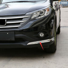 Chromed Bumper Bull Bar Moulding Trim For Honda CRV 2012 2013 2014