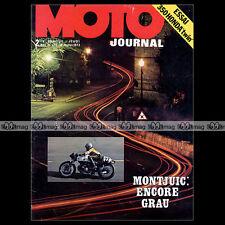 MOTO JOURNAL N°128 HONDA CB 350 T TWIN DINAN BENJAMIN GRAU 24H MONTJUÏC 1973