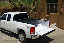 ROLL-UP Vinyl Tonneau Bed Cover - 2014-2016 Chevy Silverado/GMC Sierra 6.5' Bed