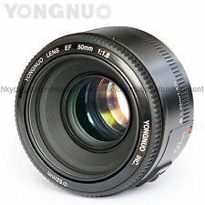 In Stock Yongnuo EF 50mm F/1.8 Standard Prime Lens for Canon Rebel DSLR Camera