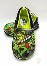 Boy's Ninja Turtles Slippers size M 11/12 Kids Shoes Loafer New