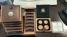 1973 thru 1976 Canada Olympic $5 & $10 Coin Sets Mint Box & COA OGP No Coins