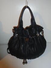 roots - ROOTS PROTOTYPE UNBRANDED PLEATED PRINCE LEATHER BUCKET BAG HOBO TOTE