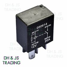 Micro Relay 4 PIN 12v 20a + Resistor Normally Open Mini 20 amp CAR VAN BOAT MRY5