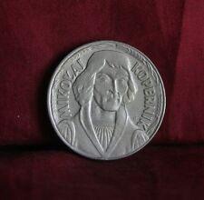 Poland 10 Zlotych 1968 World Coin Y51a Eagle Mikolaj Kopernik Polish Copernicus