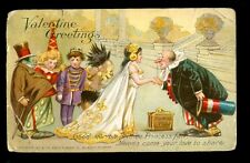 LITTLE NEMO 1907 VALENTINE TUCK POSTCARD #6 CREATED BY WINSOR McCAY (3)