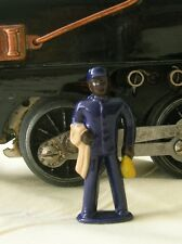 Train Porter w/Whisk Broom, O scale model train layout figure, Reproduction