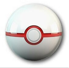 "25mm 1"" Button Badge - PREMIER BALL design -  Pokemon Pikachu Pokeball"