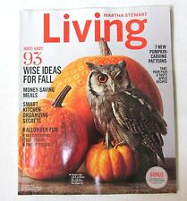 MARTHA STEWART LIVING MAGAZINE -OCTOBER 2014 ISSUE - 93 WISE IDEAS FOR FALL
