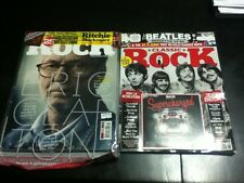 classic rock magazine lot of 2 summer 2016 august 2016 factory sealed w/2 cds
