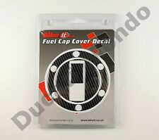 Carbon Fibre look fuel cap cover laminate decal for Aprilia RSV1000 Tuono 03-04