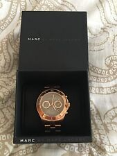 Marc Jacobs Women's Chronograph Blade Rose Gold-Tone Watch MBM3308