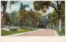 Antique POSTCARD c1905 View in the Grounds U.S. Armory SPRINGFIELD, MA 18161