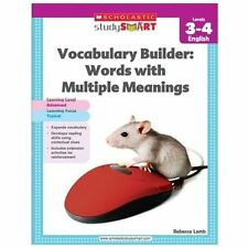 Scholastic Study Smart Vocabulary Builder: Words with Multiple Meanings Level...