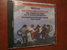 BRAHMS  the Hungarian dances- Masur -CD- Philips - fino 2 cd spese fisse