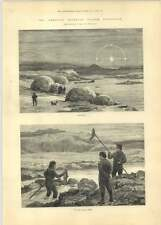 1881 Franklin Search Lake Daly On The Salmon Creek Fishing