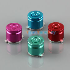 New 4 pcs Aluminum Metal Bullet Buttons Kit for PS3/PS4 Controller Multicolor