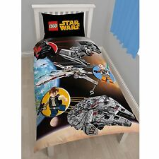 LEGO STAR WARS 'SPACE' SINGLE DUVET COVER SET NEW OFFICIAL