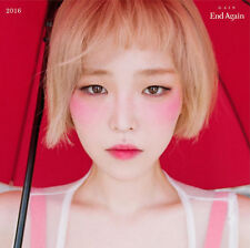 GAIN - [END AGAIN] 1st Album Part.1 CD+Photo Book K-POP Brown Eyed Girls Solo