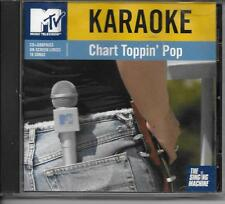 Chart Toppin' Pop~~MTV Karaoke~7113   Don't Let Me Get Me~~Out of My Heart  CD+G
