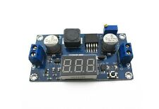 DC-DC 4.5-32V to 5V-55V XL6009 Boost Step-up Module Adjustable LED Voltmeter