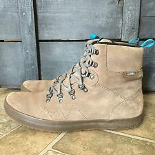 Cushe Matthias Gray Suede Leather Waterproof Boots Mens Size 11